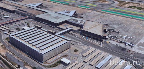 Терминал Т2 в аэропорту Барселоны