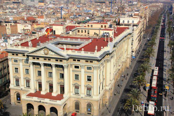 Здание военных в Барселоне