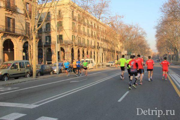 Фестиваль спорта в Барселоне