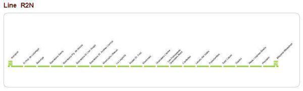 маршрут на поезде до аэропорта барселоны