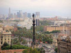 Памятник Колумбу в Барселоне: фото и карта расположения.
