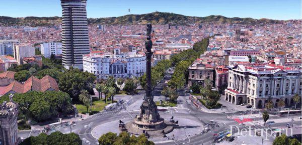 памятник Колумбу - смотровая площадка Барселоны
