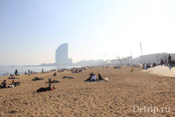 Пляж Барселонетты