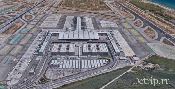 Терминал Т1 аэропорта Барселоны