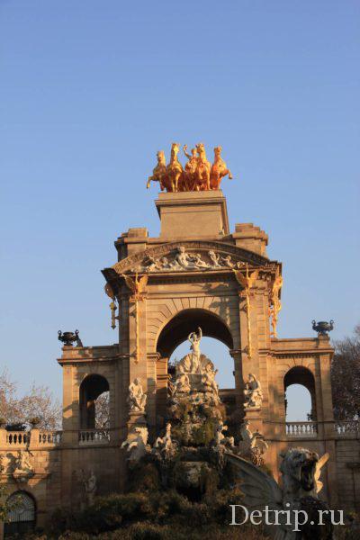 Фонтан Каскад в Барселоне