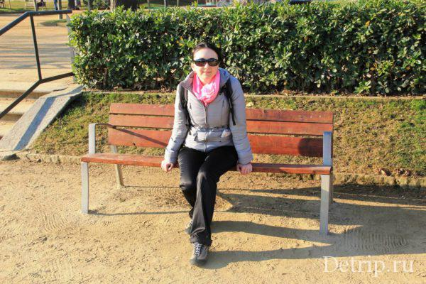Отдых в парке Цитадели