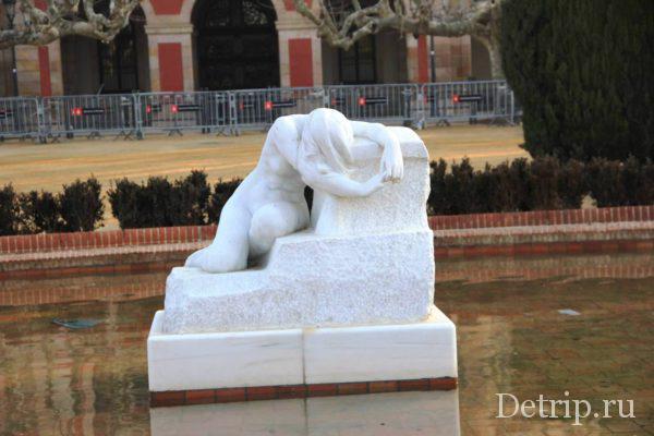 Скульптура Отчаяние