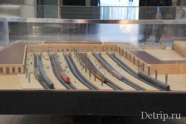 мини-проект французского вокзала