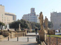 Площадь Каталонии в Барселоне: история, фото и как добраться