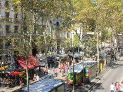Бульвар Ла Рамбла – главная улица Барселоны