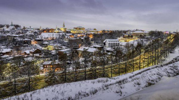Владимир зимний вечер