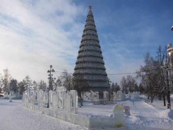 Екатеринбург новый год