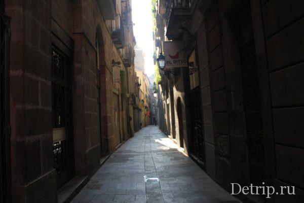 фото готический квартал