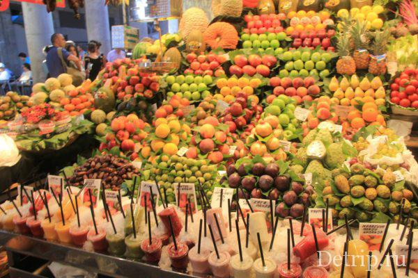 фрукты Барсеолона