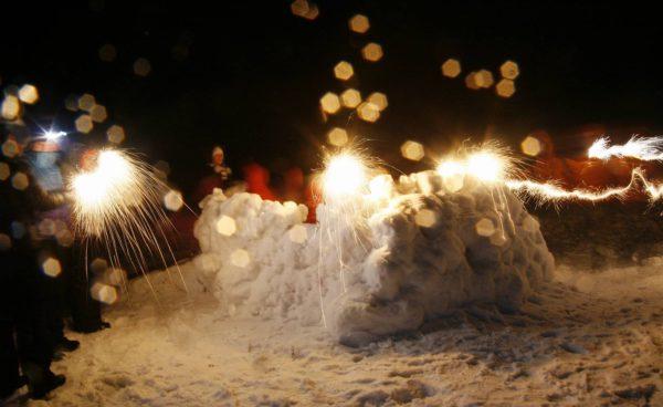 карелия снег