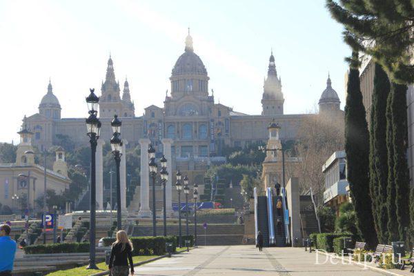 национальный дворец Барселоны