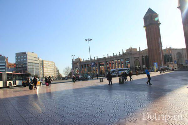 площадь Испании фото
