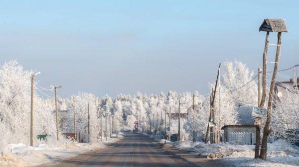 Подмосковье зима