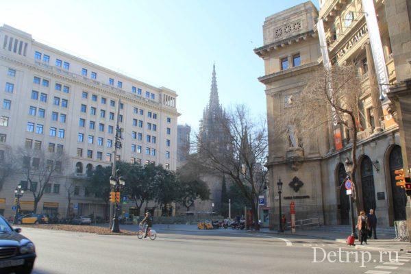 Вид на готический квартал