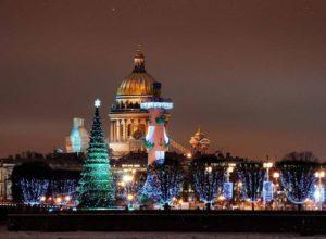 Новый год в Санкт-Петербурге 2018: отели с программой недорого