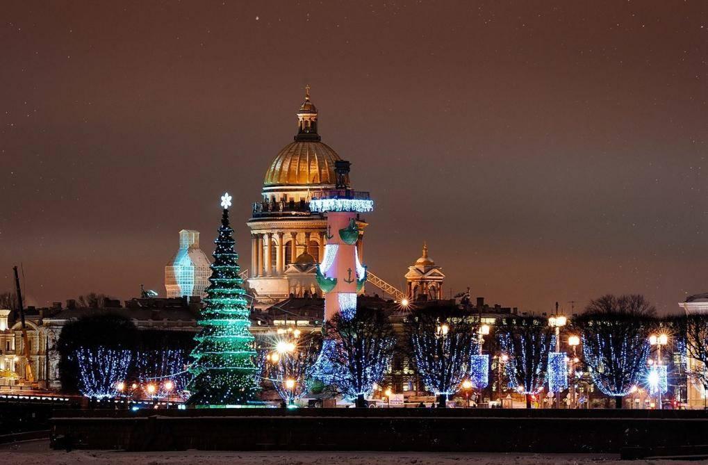 Новый 2019 год в Санкт-Петербурге в 2019 году