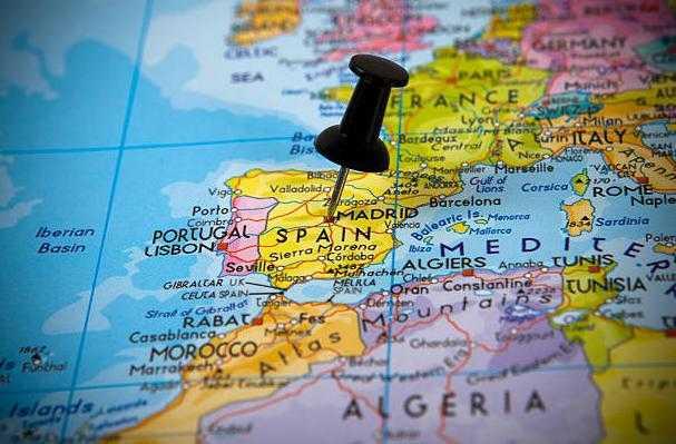 страны, с которыми граничит испания