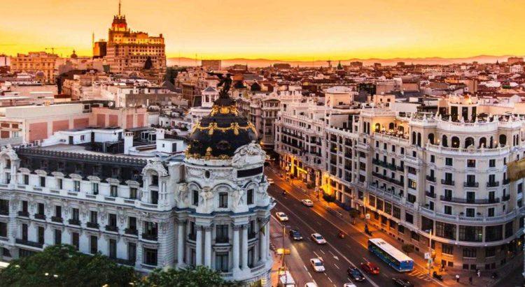 Мадрид столица Испании