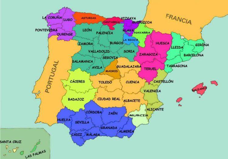 провинции испании