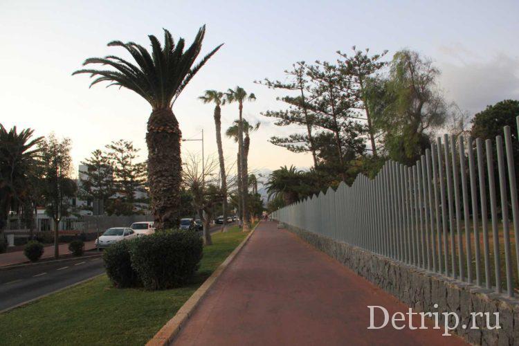 улицы курорта