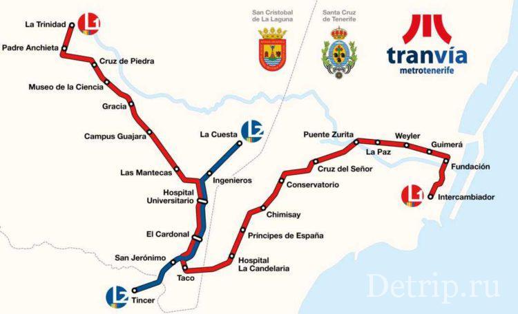 карта маршрутов трамвая