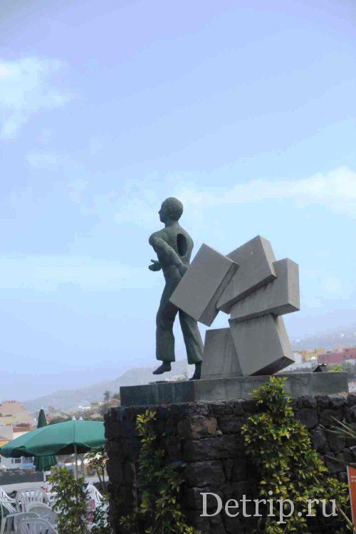 памятник мигранту