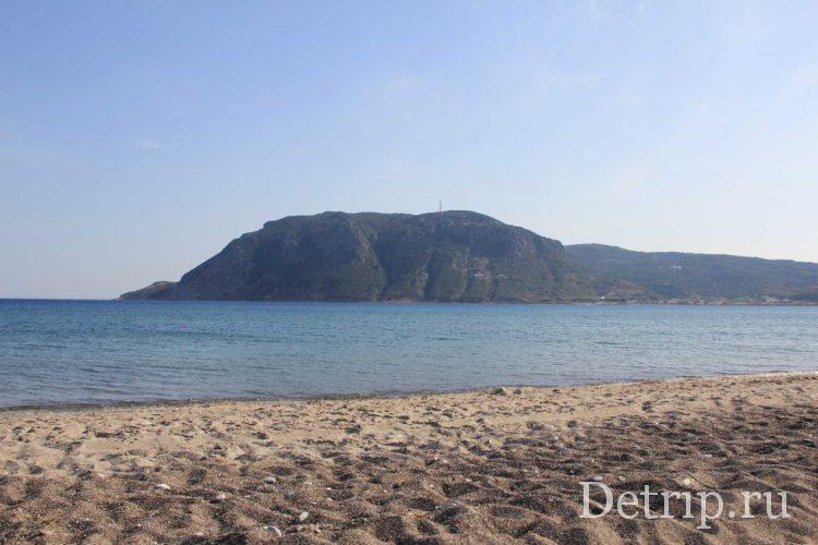 море на острове кос