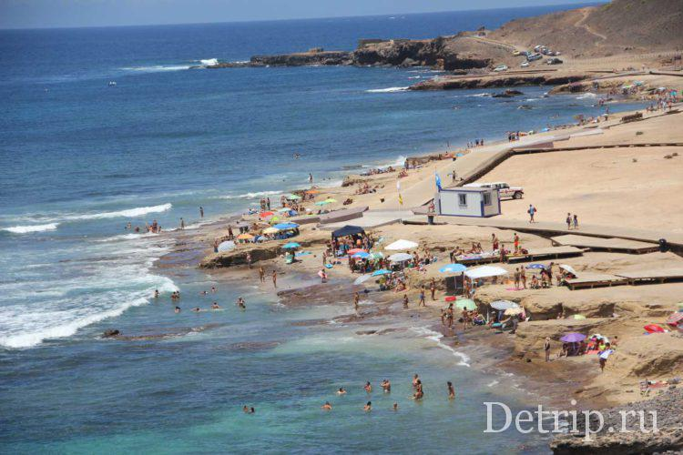 пляжи гран канарии