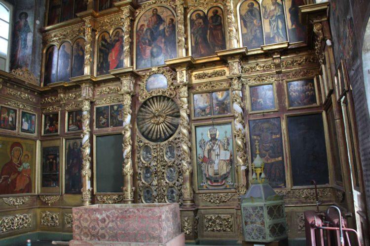 Иконостас Церкви Царевича Дмитрия на Крови