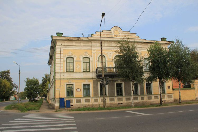 Дом купцов Истоминых