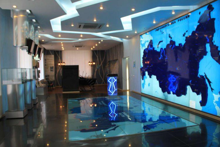 зал Гидроэнергетики России